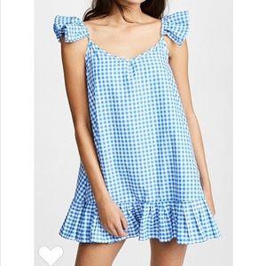 NWT Sundress Mimi Gingham Dress, XS /S